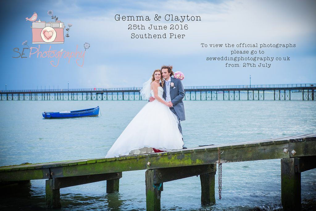 southend seaside wedding